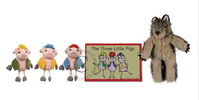 The Puppet Co 3 Little Pigs